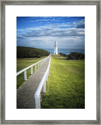 Cape Otway Framed Print by Kim Andelkovic
