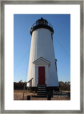 Cape Poge Lighthouse Framed Print by Carol Groenen