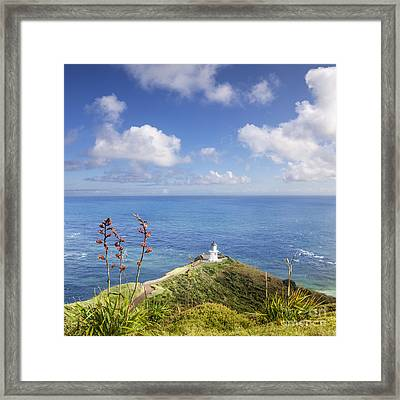 Cape Reinga Northland New Zealand Framed Print by Colin and Linda McKie