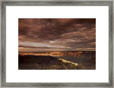 Cape Royal Light Framed Print