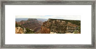 Cape Royal Panorama View Grand Canyon Framed Print