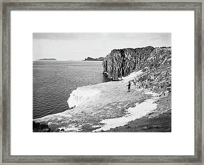 Cape Royds Antarctic Exploration Framed Print