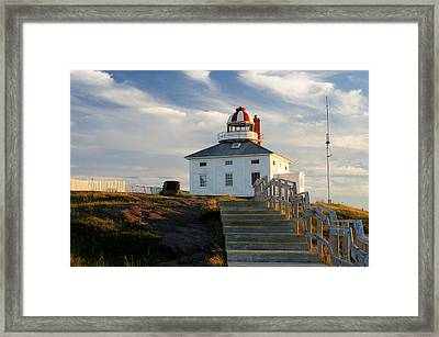 Cape Spear Newfoundland Lighthouse Framed Print