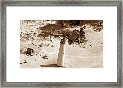 Cape St George Island Light Framed Print