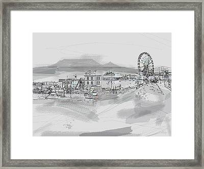 Cape Town Journal Framed Print by Andre Pillay