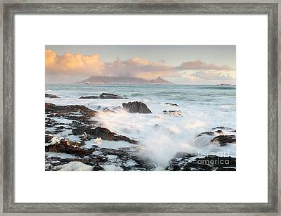 Cape Town  Framed Print by Neil Overy