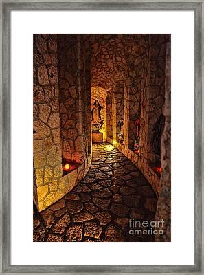Xcaret Chapel Framed Print
