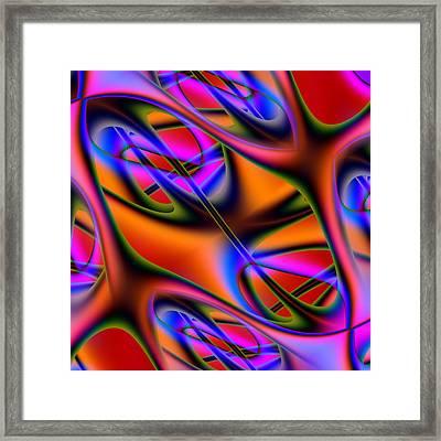 Capillary Framed Print