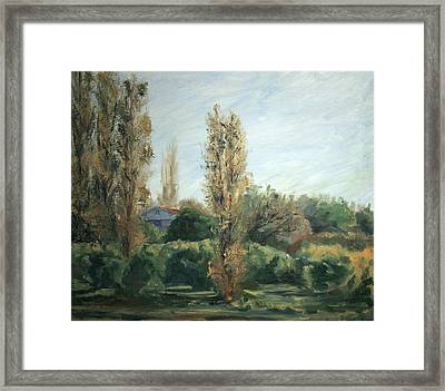 Capistrano Afternoon Framed Print