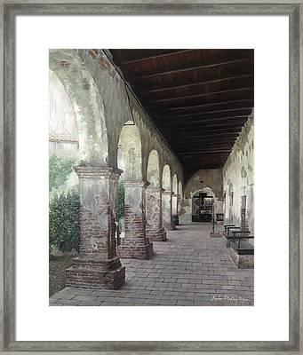 Capistrano Stroll Framed Print
