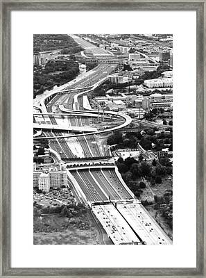 Capital Beltway Framed Print by Nicola Nobile