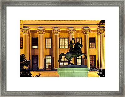 Capital Building Framed Print by Brian Jannsen
