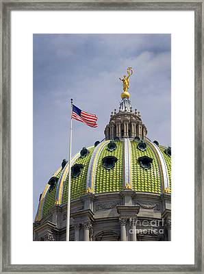 Capital Dome Framed Print by Paul W Faust -  Impressions of Light