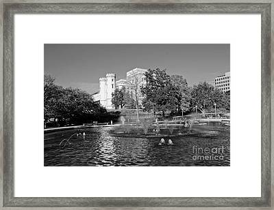 Capital Framed Print