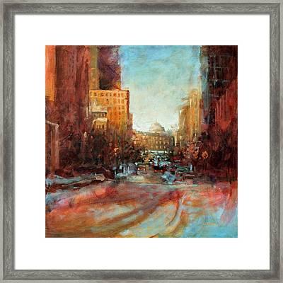 Capital Tranquility Framed Print
