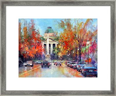 Capitol Confederate Framed Print