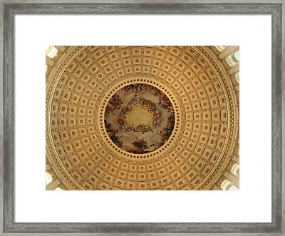 Capitol Dome Framed Print by Paul Thomas