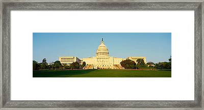 Capitol Hill, Washington, Dc Framed Print by Panoramic Images