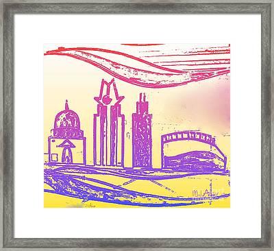 Capitol Of Texas 5 Framed Print by Mark Ansier