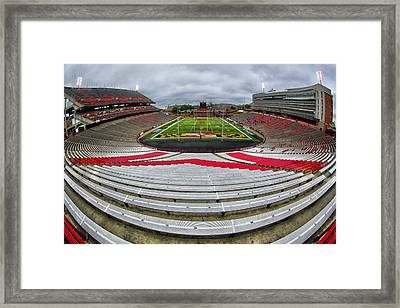 Capitol One Field Framed Print by Mitch Cat