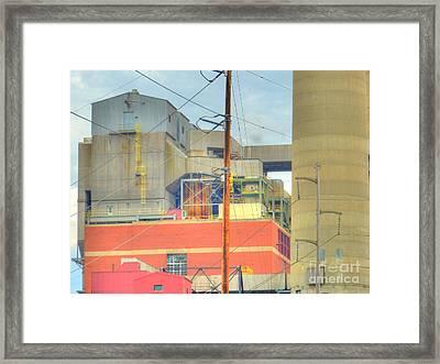 Capitol Power Framed Print