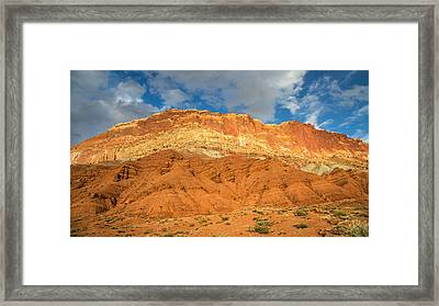 Capitol Reef Colorful Landscape Framed Print by Pierre Leclerc Photography