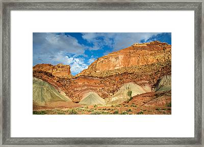 Capitol Reef Landscape Framed Print by Pierre Leclerc Photography