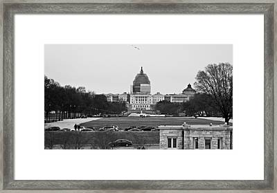 Capitol View 2 Framed Print