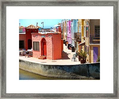 Capitola Framed Print