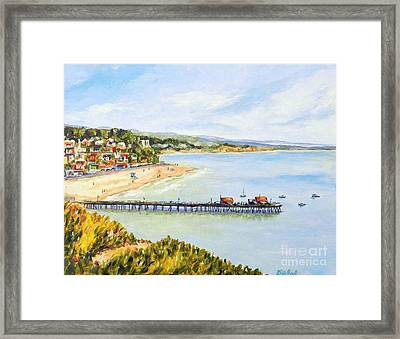 Capitola Framed Print by William Reed