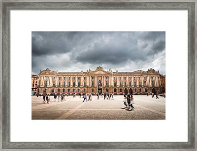 Capitole De Toulouse Framed Print