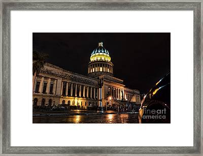 Capitolio Habanero Framed Print