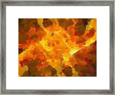 Capixart Abstract 101 Framed Print