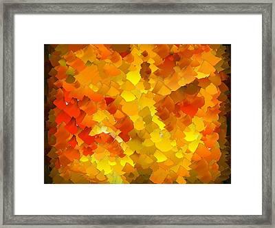 Capixart Abstract 103 Framed Print