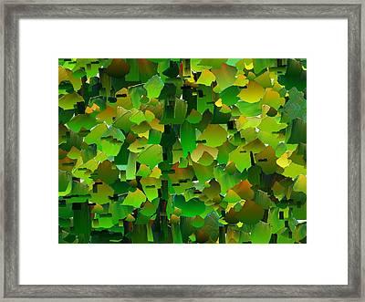 Capixart Abstract 104 Framed Print