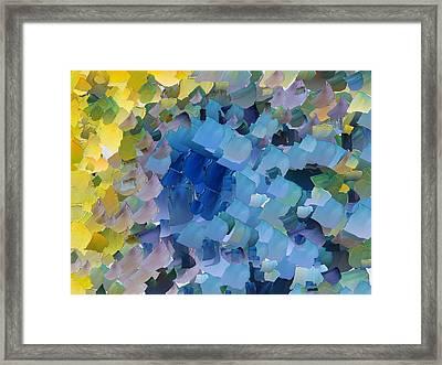 Capixart Abstract 107 Framed Print