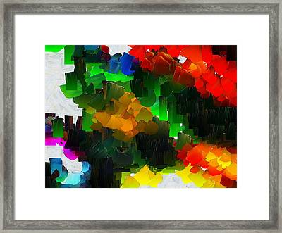 Capixart Abstract 109 Framed Print