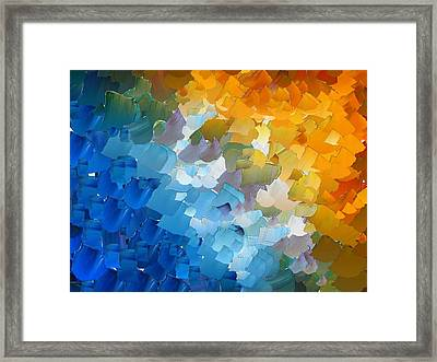 Capixart Abstract 110 Framed Print
