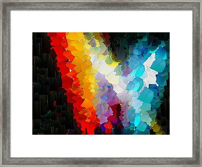 Capixart Abstract 111 Framed Print
