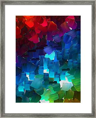 Capixart Abstract 15 Framed Print