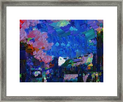 Capixart Abstract 16 Framed Print