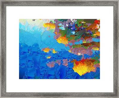 Capixart Abstract 17 Framed Print