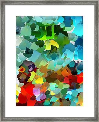 Capixart Abstract 23 Framed Print