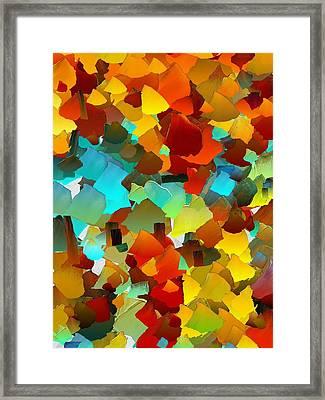Capixart Abstract 24 Framed Print