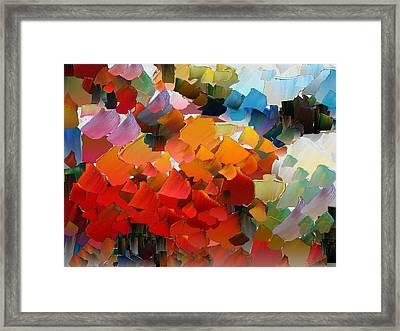 Capixart Abstract 25 Framed Print