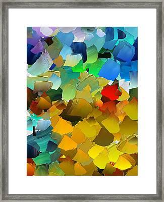 Capixart Abstract 33 Framed Print