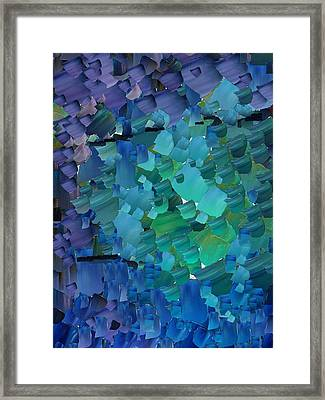 Capixart Abstract 50 Framed Print by Chris Axford