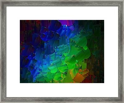 Capixart Abstract 51 Framed Print