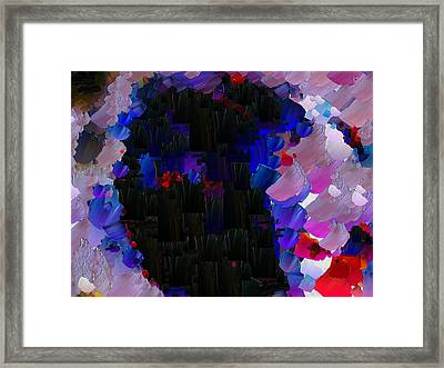 Capixart Abstract 57 Framed Print by Chris Axford