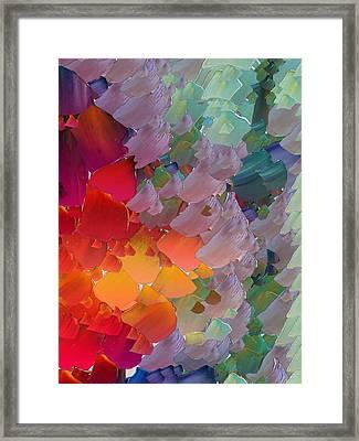 Capixart Abstract 58 Framed Print